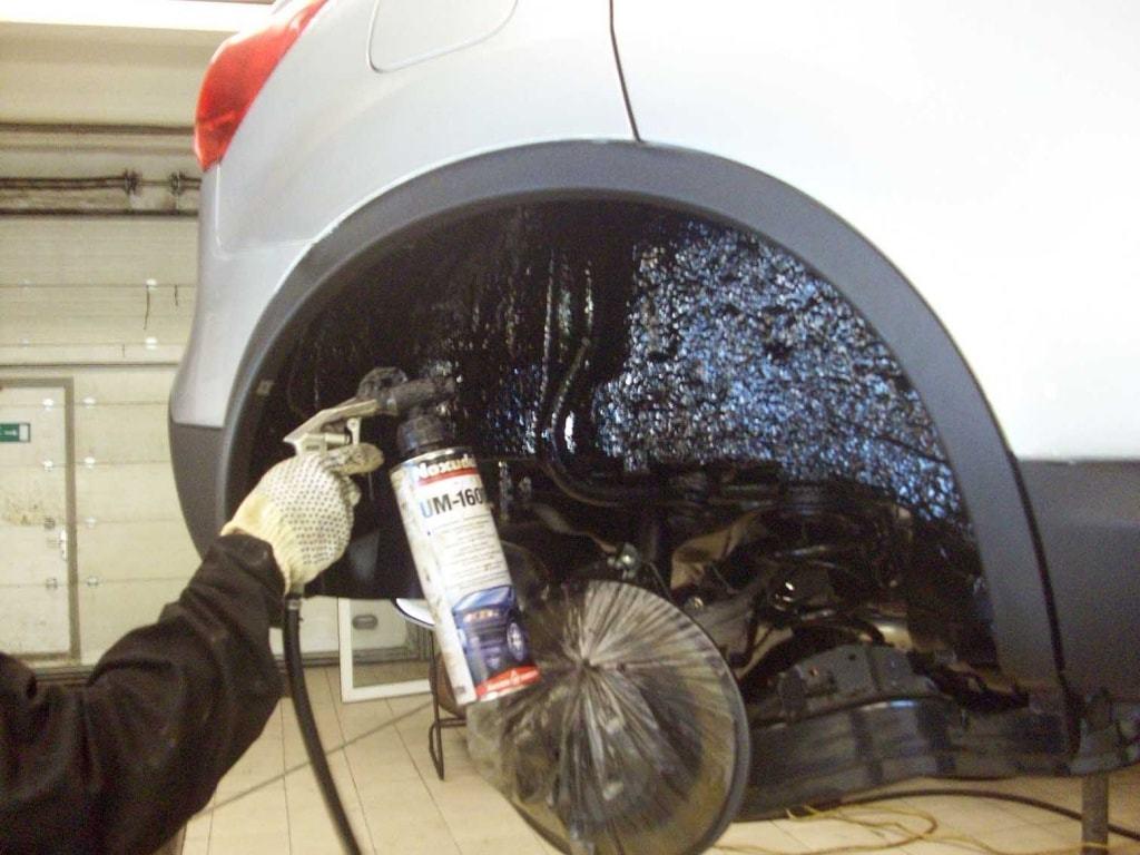 фото покрытие авто от коррозии