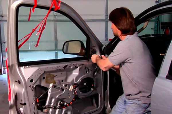 Фото ремонта двери авто