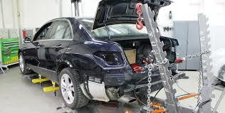 фото восстановление геометрии кузова в автосервисе