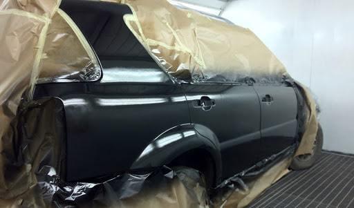 фото покраска кузова автомобиля