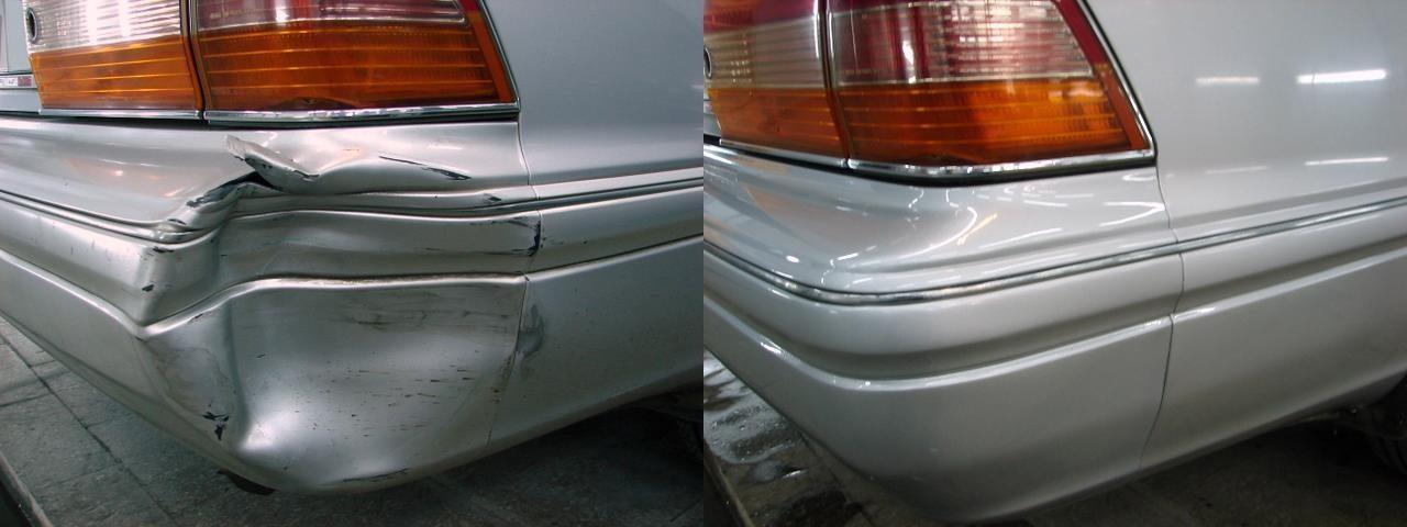 фото результат ремонта бампера