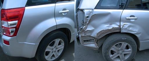 Фото ремонта крыла автомобиля до после
