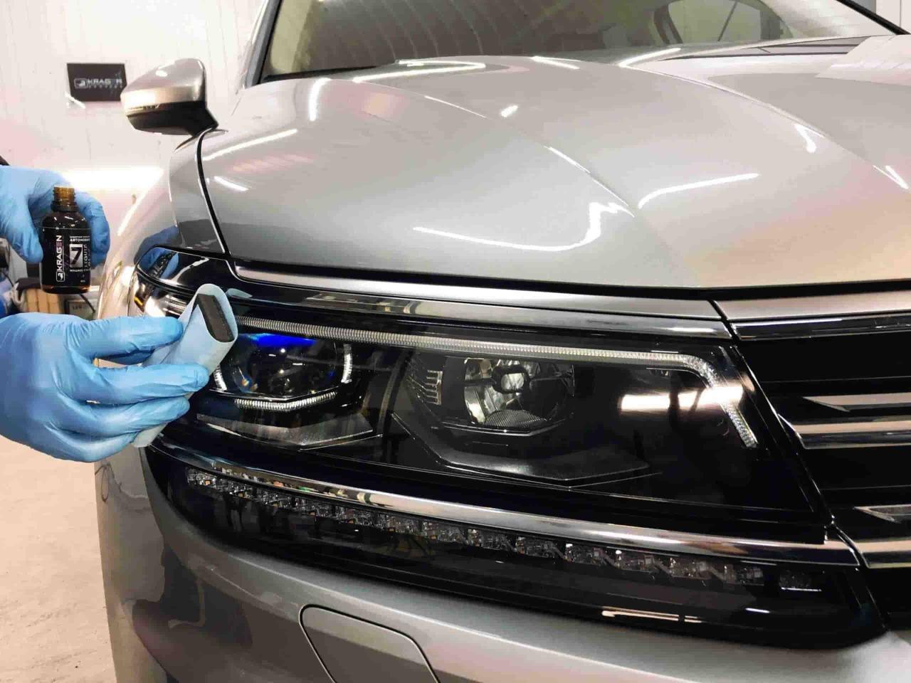фото покрытие кузова жидким стеклом