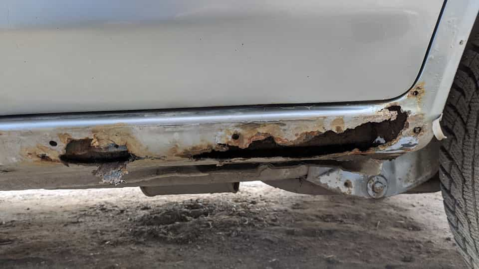 фото ремонт порога авто